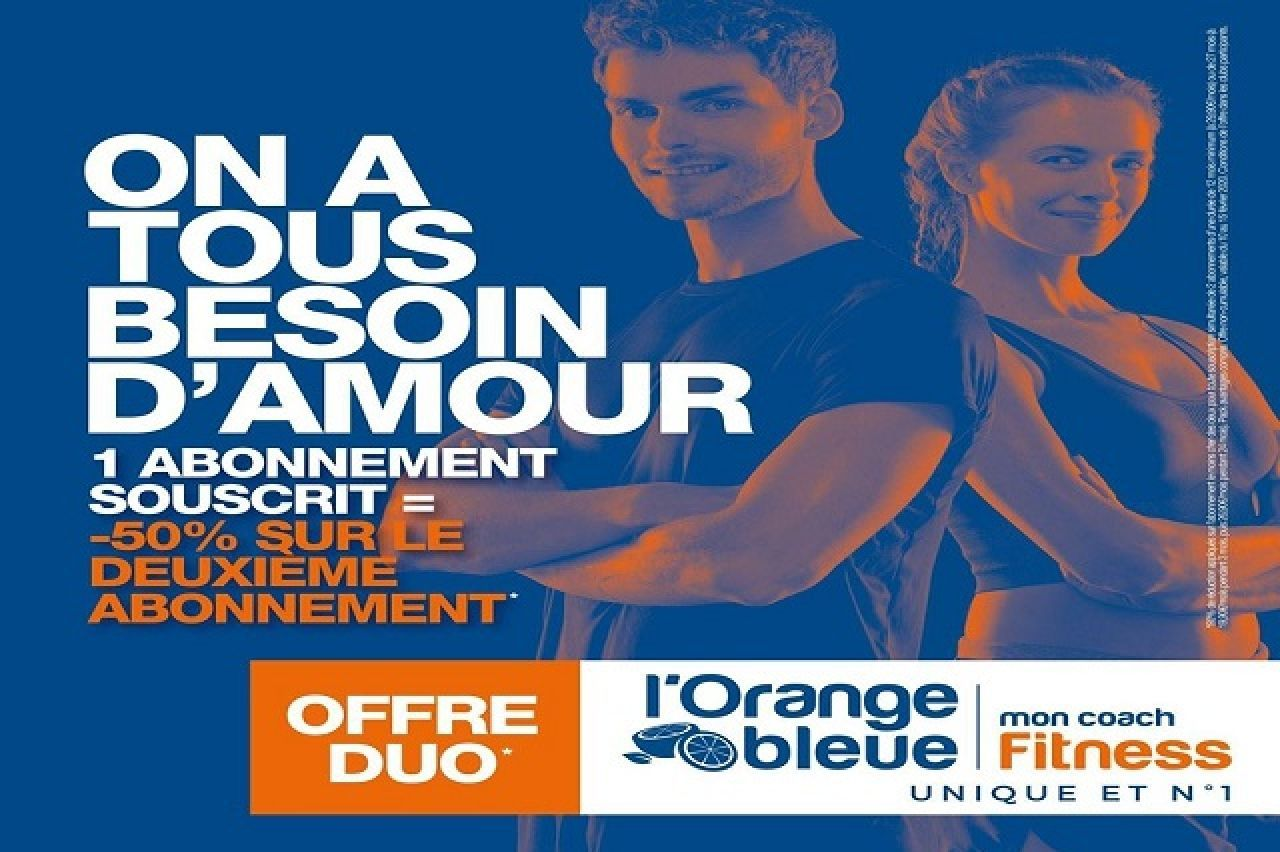 L'Orange Bleue - -50% sur le 2e abonnement