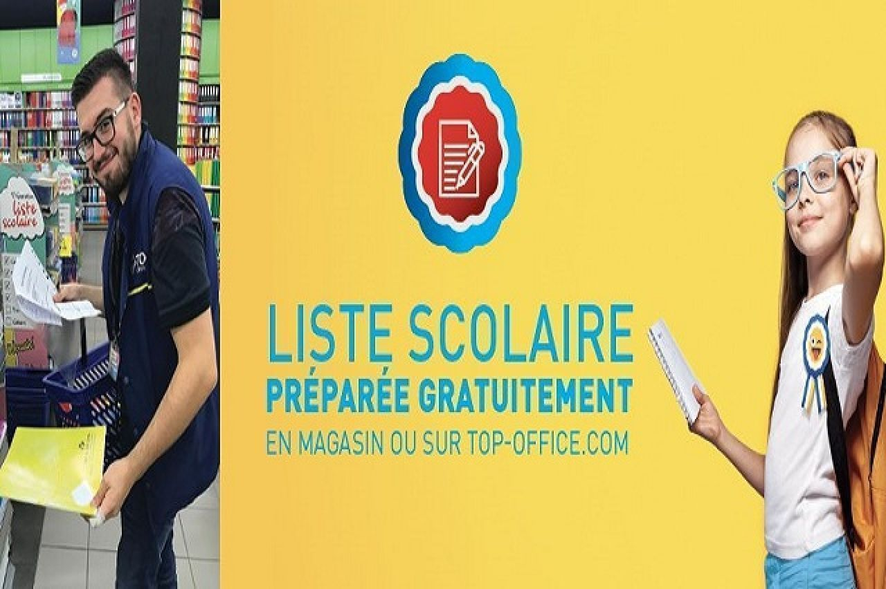 Top office - Liste Scolaire