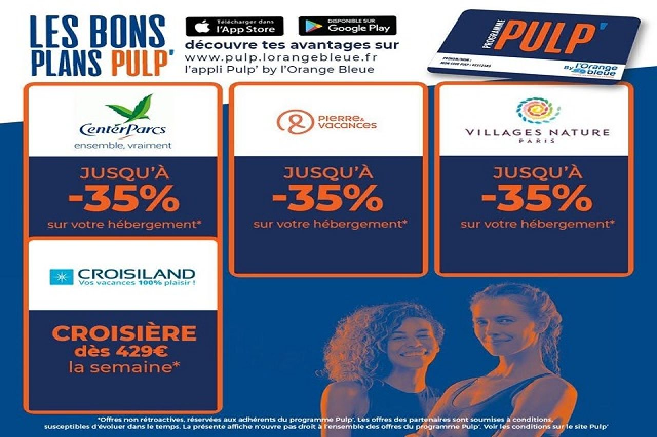 L'Orange Bleue - Bons Plans Pulp